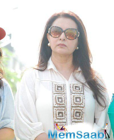 Poonam Dhillon Stunning Glamour Look During 4th Inauguration Mega Cleanliness Drive