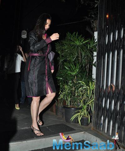 Tabu Khan Spotted At Nido Restaurant To Celebrates Her 43 Birthday Bash