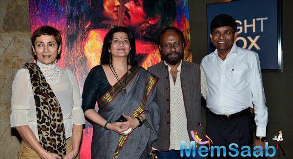 Rang Rasiya Team Attend Their Movie Screening