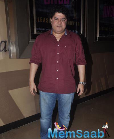 Sajid Khan Graced During The Screening Of Shaukeens Movie