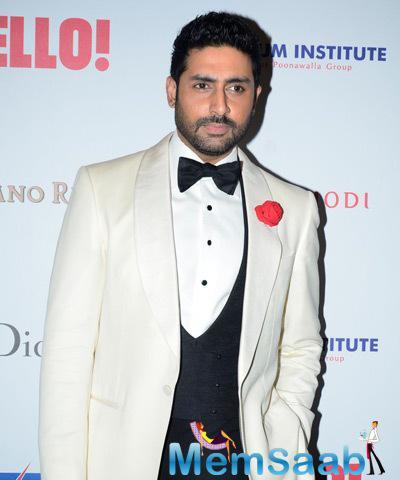 Abhishek Bachchan Cool Dashing Look At The Hello! Hall Of Fame Awards 2014