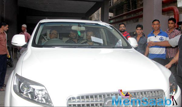 Emraan Hashmi Arrived At Promotional Event At Film Ungli Promotions