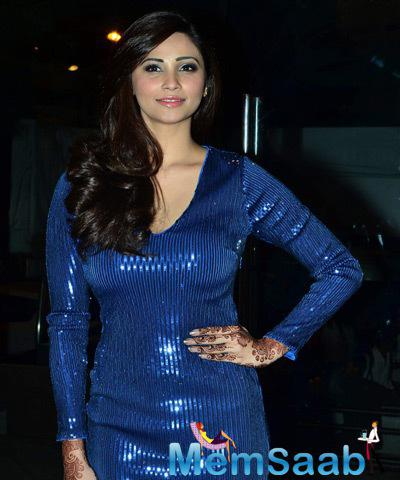 Daisy Shah Snapped With Stunning Look At The Launch Of Bebe Store