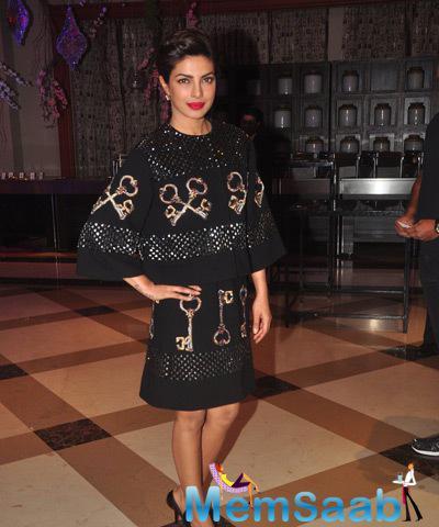 Gorgeous Priyanka At The Britannia Filmfare Awards Announcement Press Meet