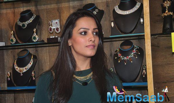 Anita Hasnandani Attend At Telly Calendar 2015 Girls Announcement Event
