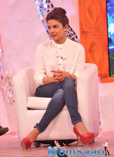 Priyanka Chopra At Ndtv Mission Swachh Bharat Abhiyaan