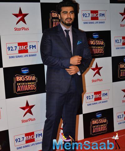 Handsome Hunk Arjun Kapoor At BIG STAR Entertainment Awards