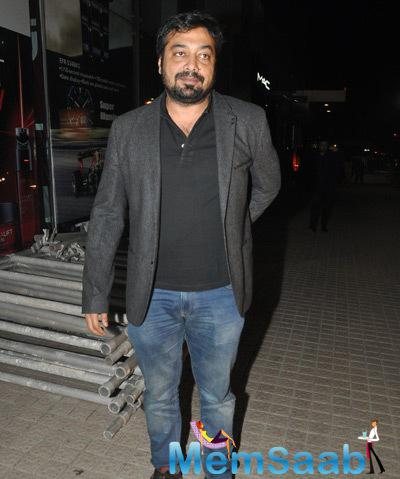 Anurag Kashyap At His Much-Awaited Movie Ugly Screening