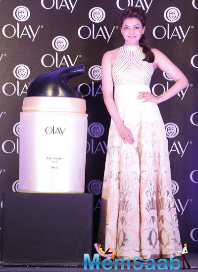Kajal Aggarwal Shared Secret Of Her Younger Looking Skin With Olay Total Effects