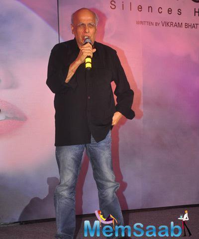 Mahesh Bhatt Spoke Few Words About His Upcoming Movie Khamoshiyan