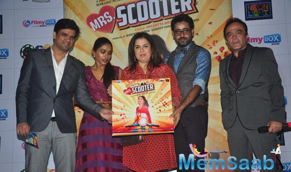 Mrs. Scooter Music Launched By Anjali Patil And Farah Khan