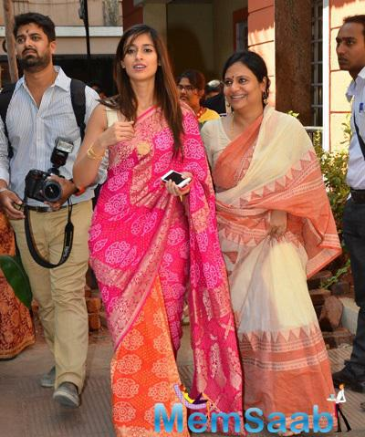Ileana D'Cruz Arrived At Anurag Basu Saraswati Puja