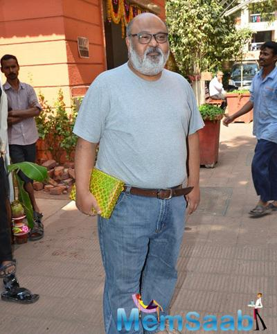 Saurabh Shukla Arrived At Anurag Basu Saraswati Puja