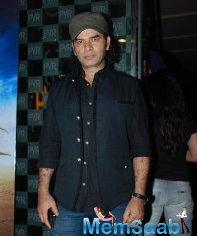 Singer Mohit Chauhan Attend The Hawaizaada Movie Special Screening