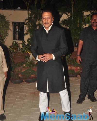 Jackie Shroff  At Sanjay Hinduja's Pre Wedding Party