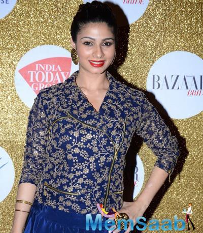 Tanishaa Mukerji Attends Harpers Bazaar Bride Anniversary Bash