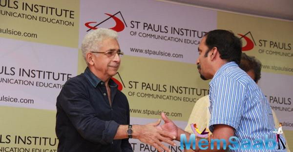 Naseeruddin Shah Attend The St Pauls Institute New Facility Launching Event