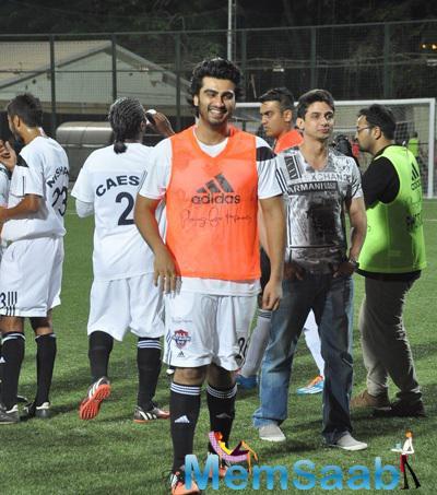 Arjun Kapoor Played Charity Football Practice Match