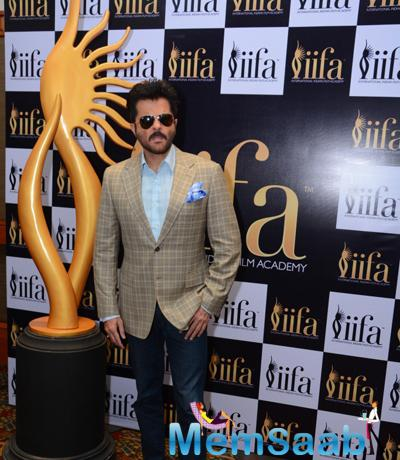 Anil Kapoor Spotted To Support 16th IIFA Voting Weekend