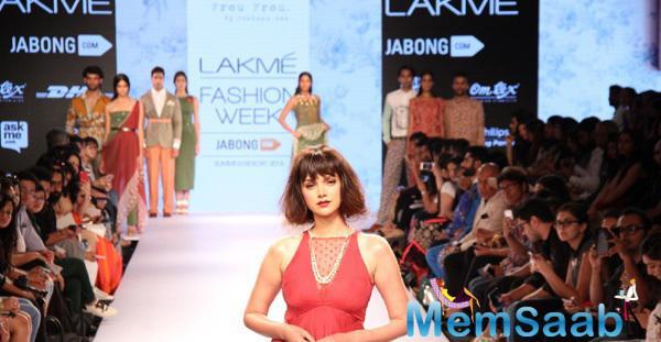 Aditi Rao Hydari Walks The Ramp As Showstopper For Frou Frou