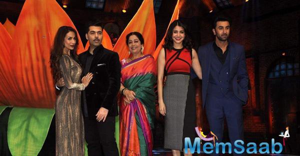 Malaika,Karan,Kirron,Anushka And Ranbir Clicked On The Sets Of India's Got Talent Season 6