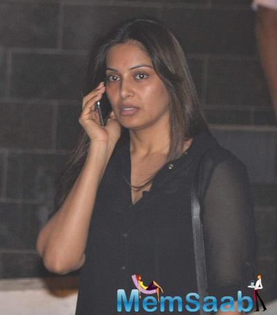 Bipasha Basu Visited Salman Khan At Night