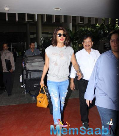 Priyanka Chopra Is Back From Her NY Trip