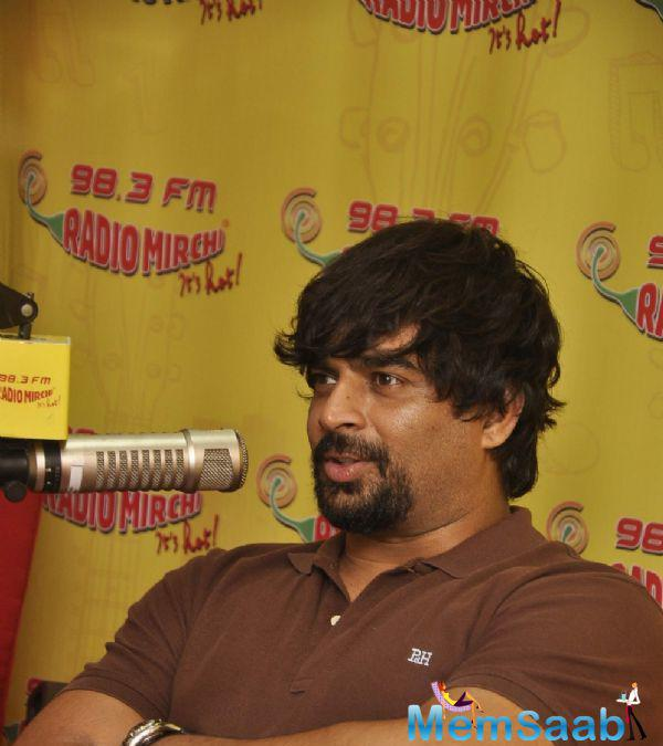R. Madhavan Interact With Her Fans At 98.3 FM