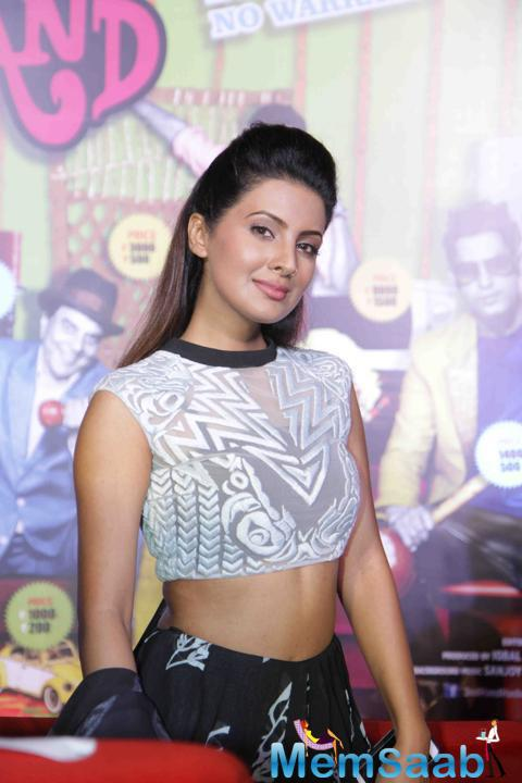 Geeta Basra Looked Stunningly Beautiful At The Trailer Launch Of Her Film Second Hand Husband