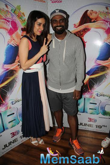 The Team Of Abcd2 Snapped Giving Interview Post Success