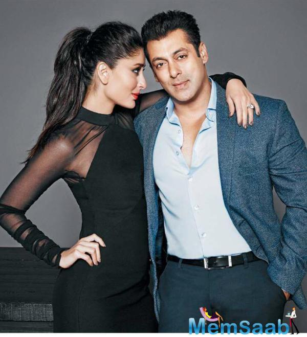 Bebo And Sallu Share A Rocking Chemistry For Filmfare Cover July 2015