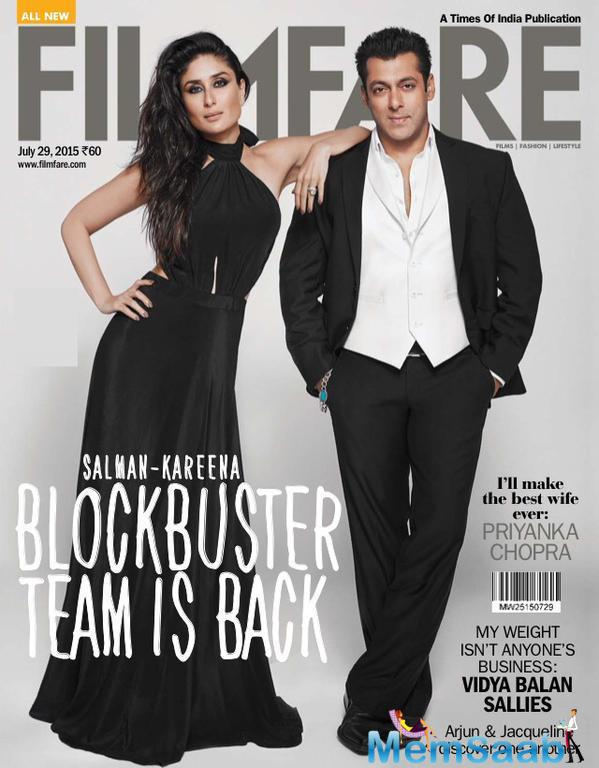 Salman And Kareena Covers The 29 July Edition Of Filmfare Magazine