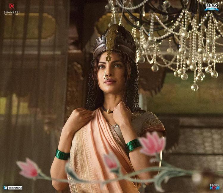 Priyanka Chopra Played Bajirao's First Wife Kashibai In Bajirao Mastani Movie