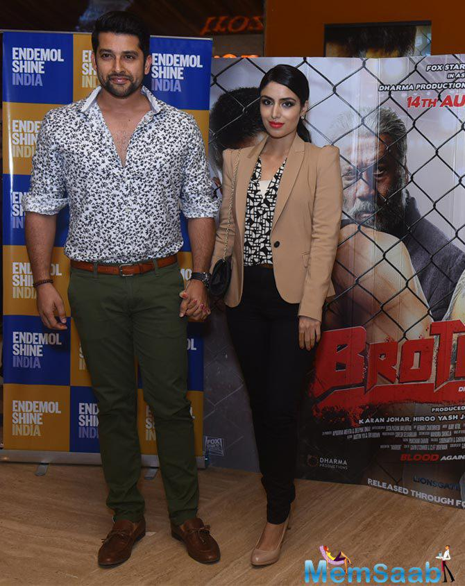 Aftab Shivdasani Present At The Special Screening Of Brothers Movie
