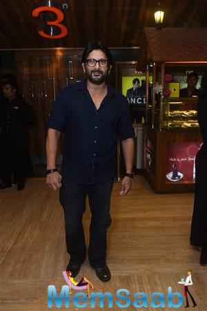 Arshad Warsi Arrived To Attend The Brothers Movie Special Screening