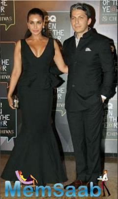 Lisa Ray Attended The GQ Event With Husband Jason Dehni