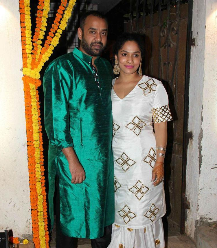 The Bridal Couple, Masaba And Madhu Looked Lovely As They Posed Together