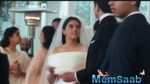 Couple Asin And Rahul Got Married Yesterday Twice, They First Had A Christian Wedding In The Morning, And A Hindu Wedding Later On Evening