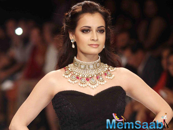 Dia Mirza, who receives a long gap of Bollywood  last few years, recently she has signed an Indo-Iranian movie