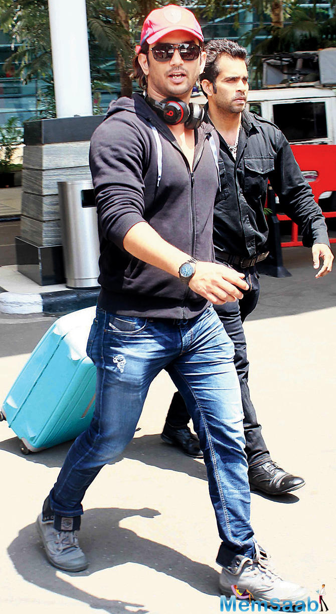 Sushant next will be seen stepping into the shoes of Indian cricket captain Mahendra Singh Dhoni in the Neeraj Pandey directorial.
