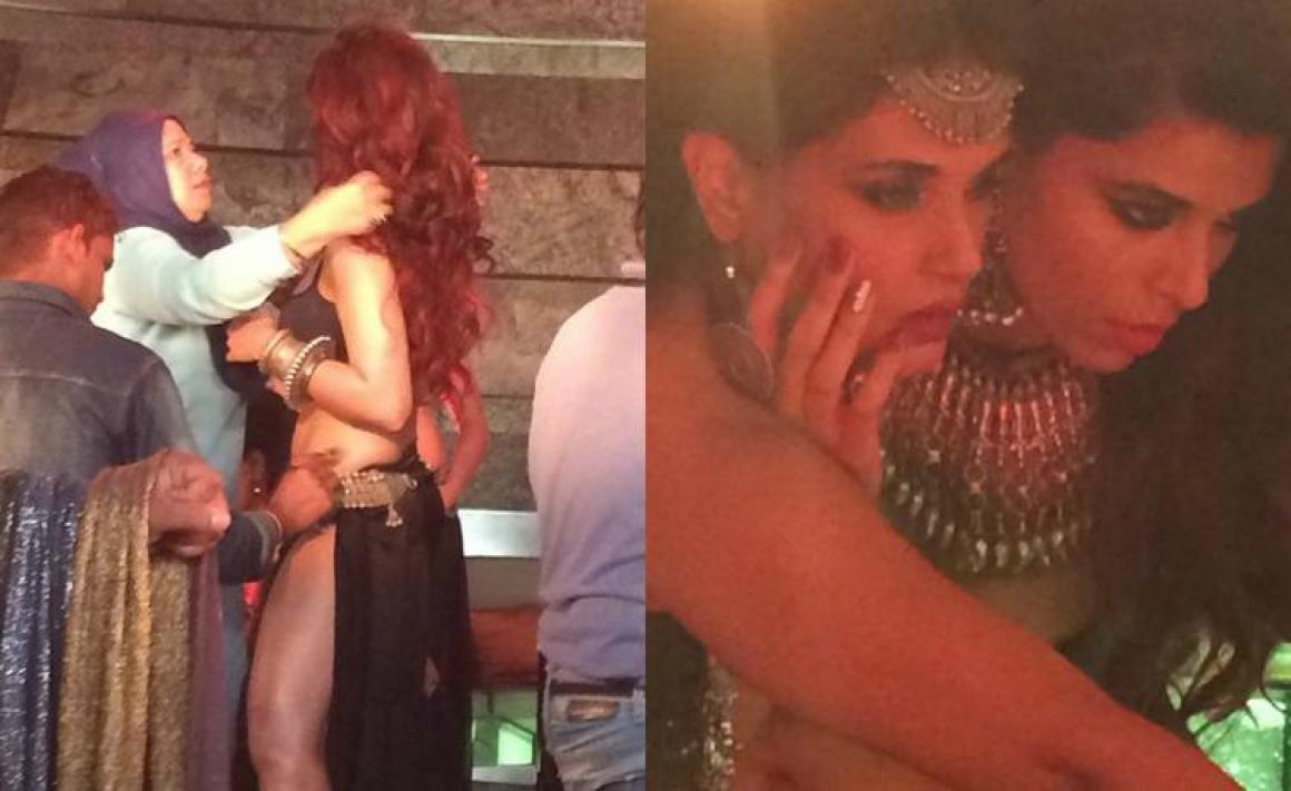 Richa Chadda, who is acting as a club dancer in Pooja Bhatt's Cabaret, feels that a glamorous role is risky for her.