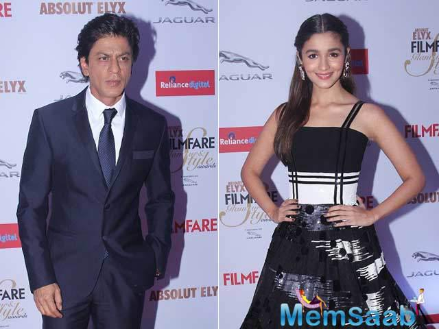 Buzz is that, SRK will be seen as a 'love guru' to Alia's character in the film.