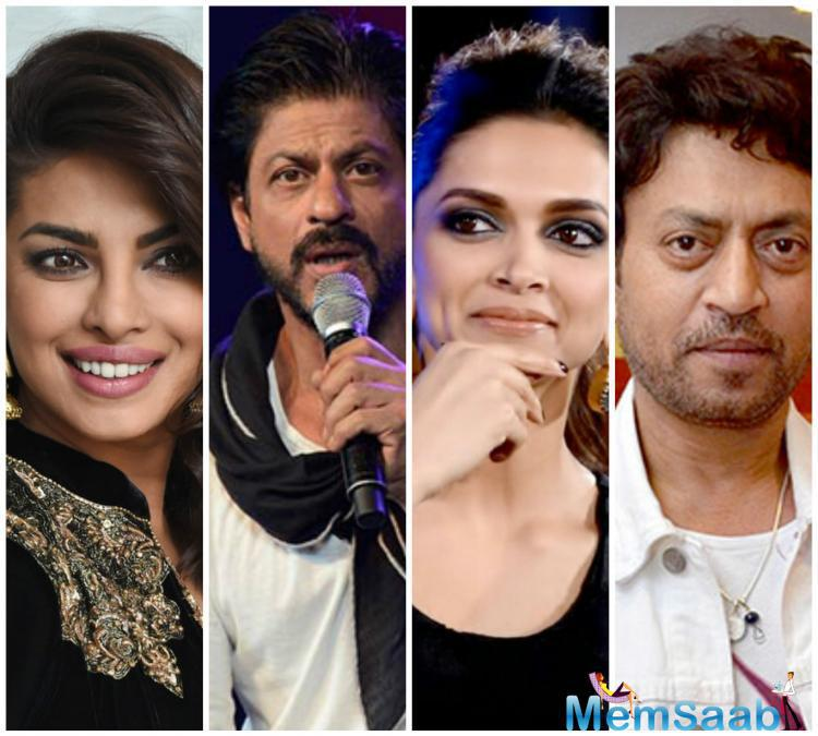 He stated, 'I have seen some of their work. Be it Irrfan,Peecee(Priyanka) or Deepika who showed me some of her pics recently. I think it is fantastic. They are all extremely talented. They know their job.