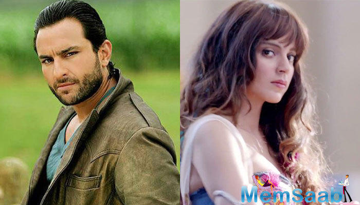 Kangana Ranaut attended a secret dinner at Saif Ali Khan and Kareena Kapoor Khan's residence on Sunday night