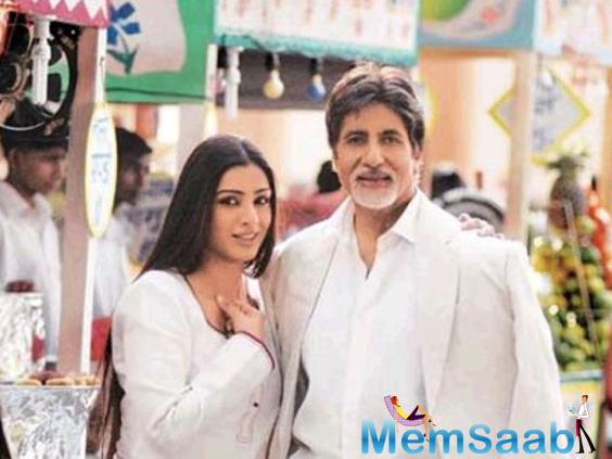Big B has many words and he will allot the dates accordingly. However, he is still to hear the final script and Balki will start work on it soon.
