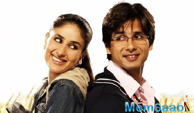 When prodded further that does this mean both actors won't be seen together ever in future in a film like 'Jab We Met', to this Kareena said,