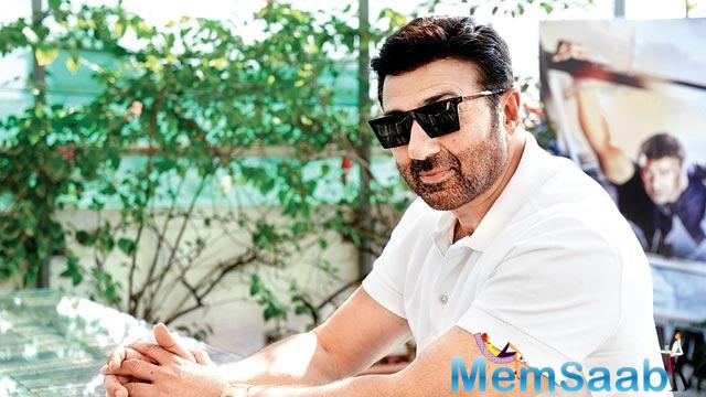 Sunny Deol has given a lot many hits, which covered the patriotic topics and that's why he is a safe option for such genre.
