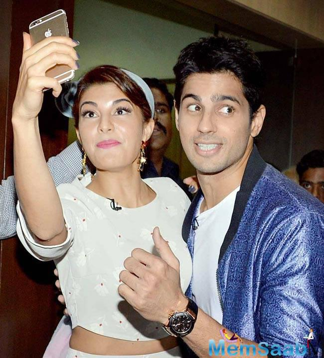 Sidharth and Jacqueline have worked together in Brothers, now they have bagged an another project, but it is not a sequel of Bang Bang.