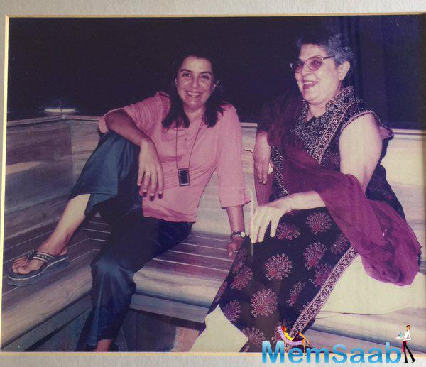 Farah Khan tweeted for her beloved mother, 'Mother The most powerful word in the world.. N also the most taken for granted' .