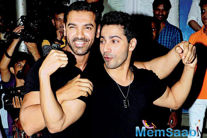 The 29-year-old star Varun Dhawan has called his Dishoom co-star John Abraham his big brother.